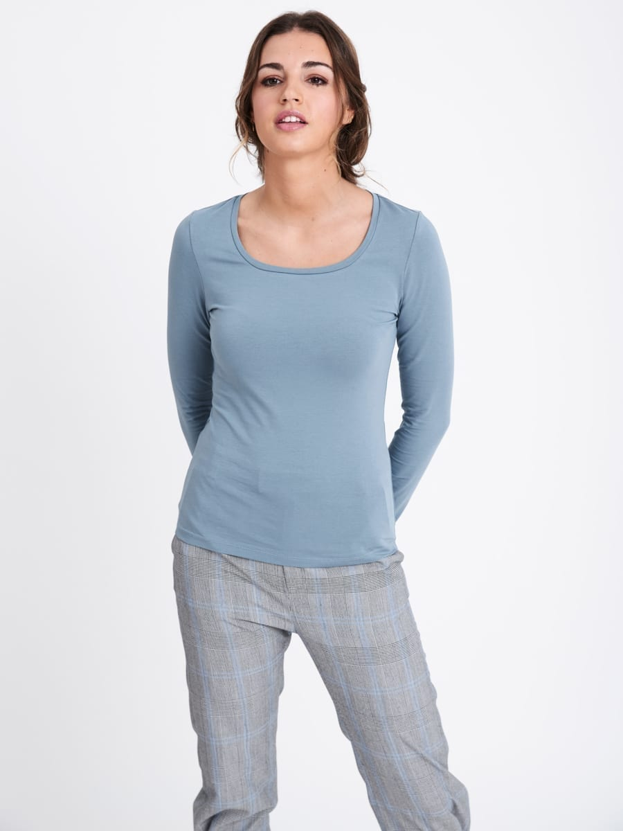 AIR ROUND NECK TOP